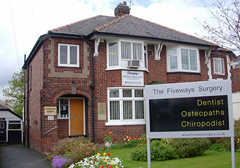 Fiveways Surgery - relocated from 16 Sep 2013